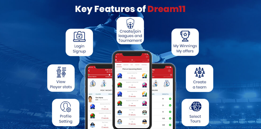 Dream11 Features