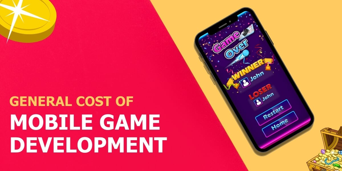 cost of mobile game development