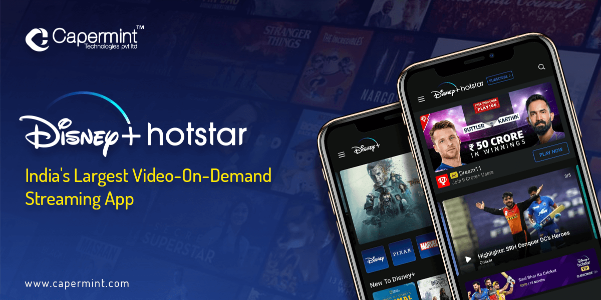 Disney+ Hotstar-India's Largest Video-On-Demand Streaming App