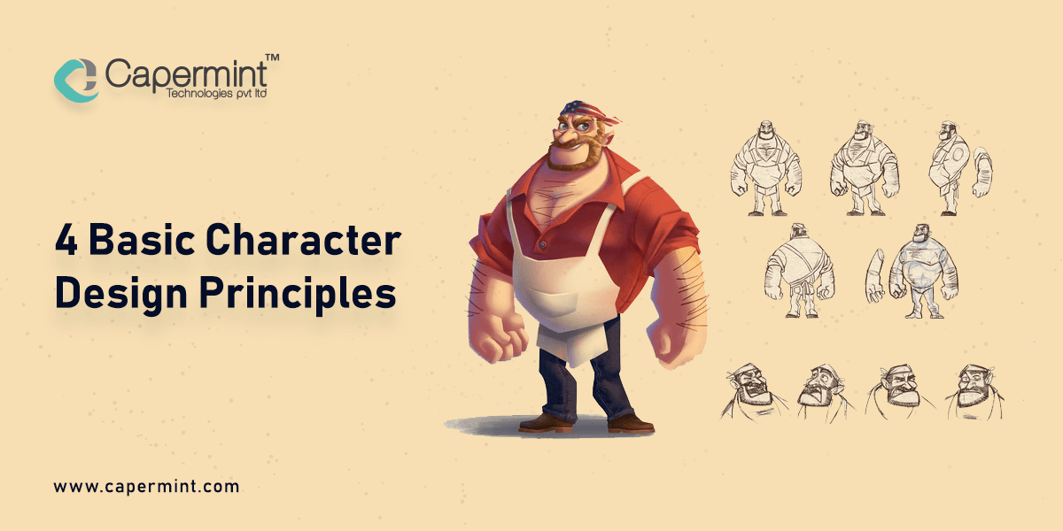 4 Basic Character Design Principles