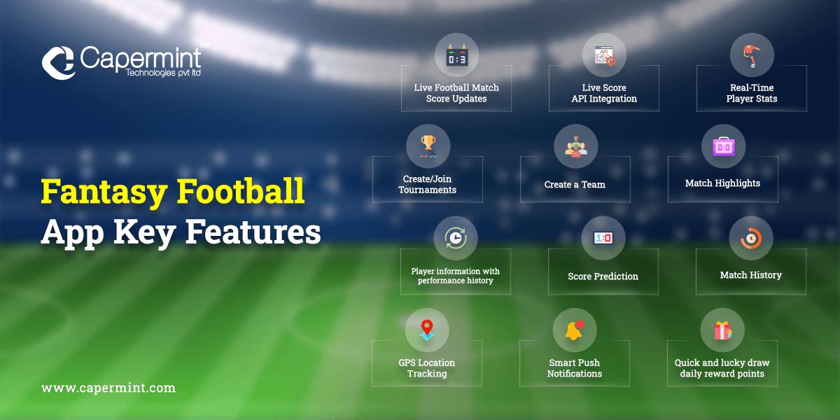 Fantasy Football App Key Features