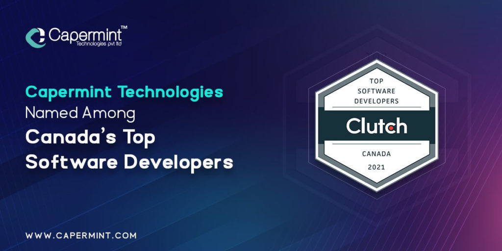 Capermint Named Among Canada's Top Software Developers