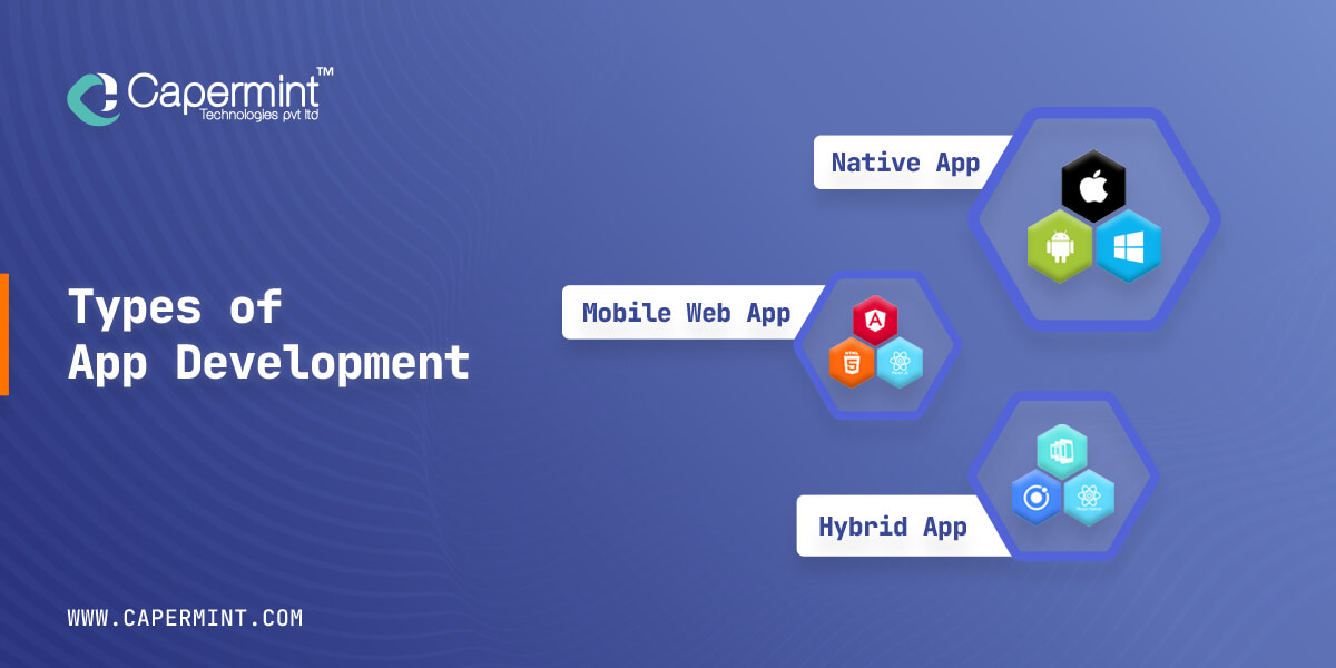 Types of app development