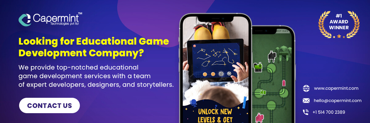 Looking for Educational Game Development Company_