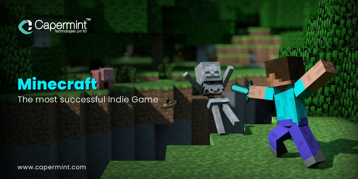 Minecraft-The most successful Indie Game